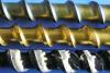 CrN + TiN beschichtete Schnecken