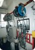 Materialschlauch-Aufrollsystem