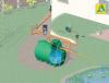 Komplettmodul zur Gartenbewässerung